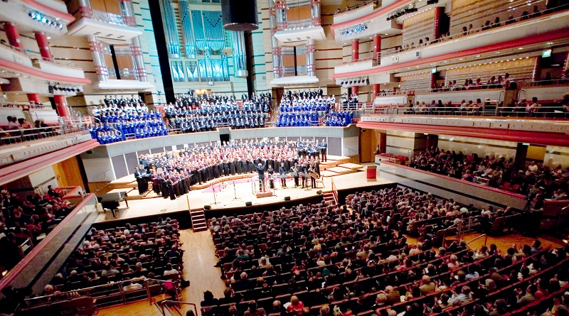 The Symphony Hall in Birmingham