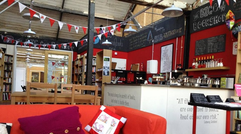 The Big Comfy Bookshop in Fargo Village, Coventry