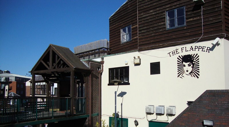 The Flapper pub and music venue in Birmingham