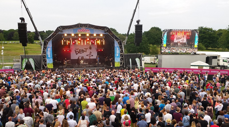 Free entry Godiva Festival in Coventry