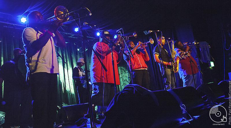 Hot 8 Brass Band, Birmingham
