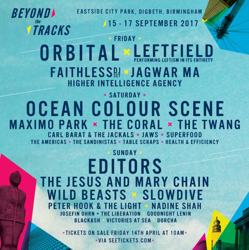 Beyond The Tracks Festival, Birmingham
