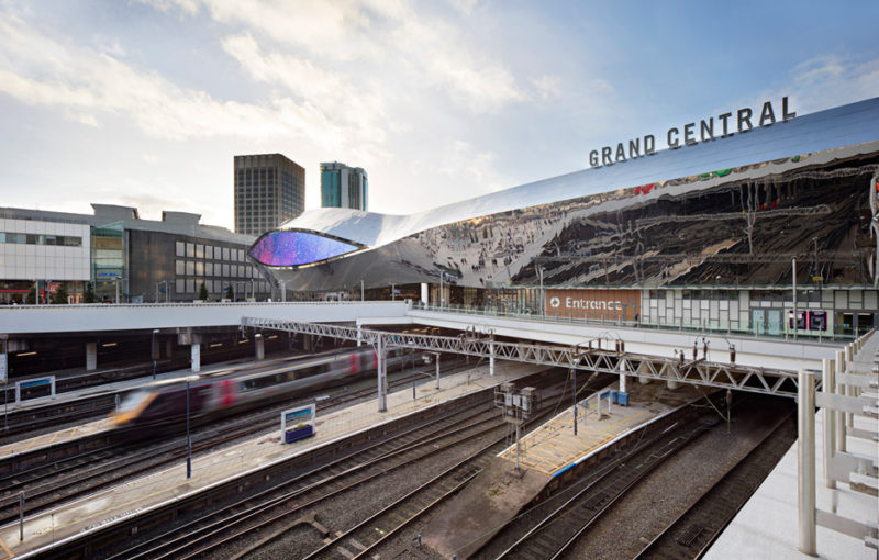 New Street Station and Grand Central, Birmingham