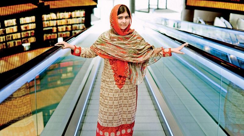 Malala Yousafazi at the Library of Birmingham