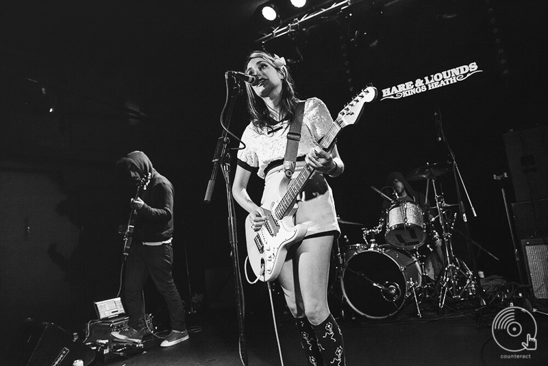 Speedy Ortiz at the Hare & Hounds in Birmingham