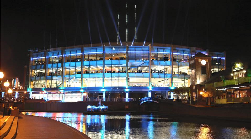 The Barclaycard Arena (formerly the NIA) in Birmingham