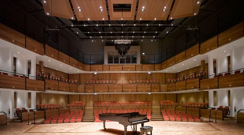 Bramall Music Building in the University of Birmingham campus