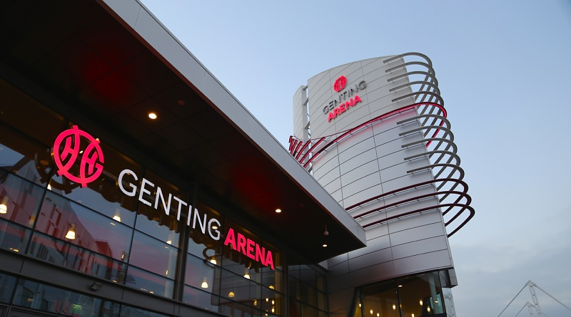 The Genting Arena (formerly the LG Arena/NEC) in Birmingham