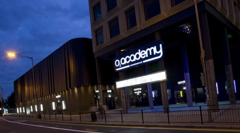O2 Academy in Birmingham