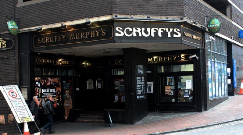 Scruffy Murphy's rock bar, Birmingham