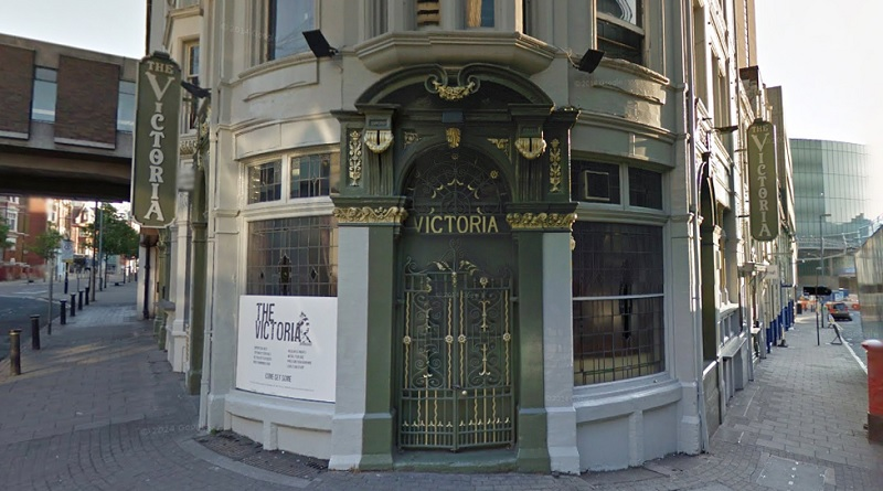 The Victoria Pub in Birmingham City Centre