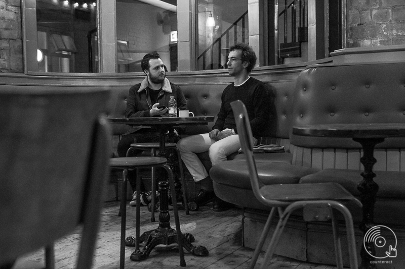 Albert Hammond, Jr. talks to Counteract at the Hare & Hounds in Birmingham