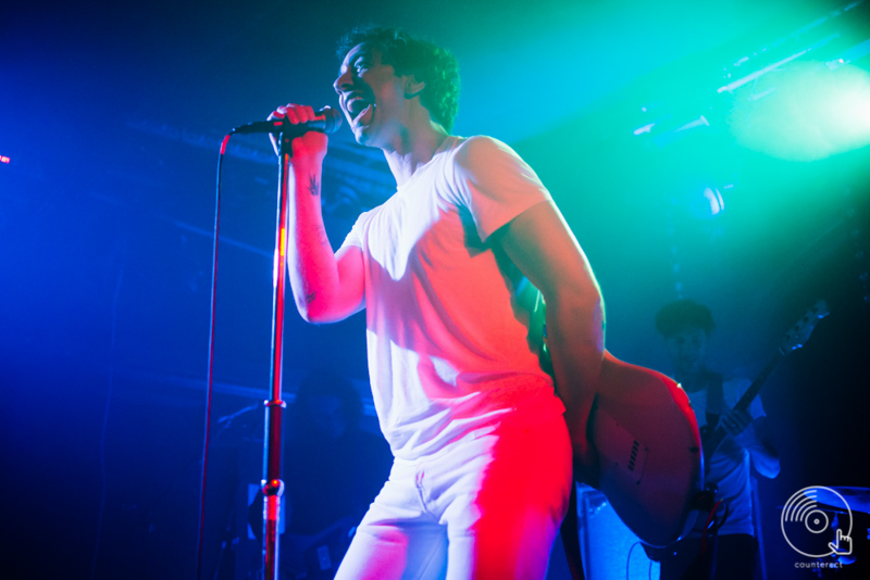 Albert Hammond, Jr. of The Strokes at the Hare & Hounds in Birmingham