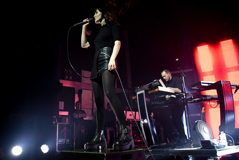 CHVRCHES at the O2 Academy in Birmingham