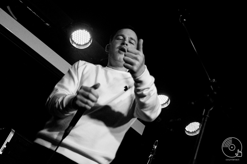 Franko Fraize at the Slade Rooms in Wolverhampton