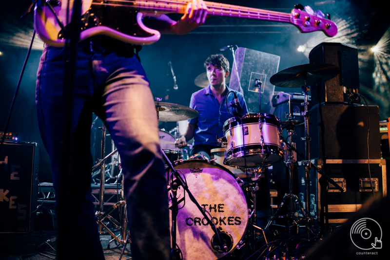 The Crookes at University of Warwick's Copper Rooms