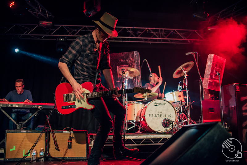 The Fratellis at University of Warwick's Copper Rooms