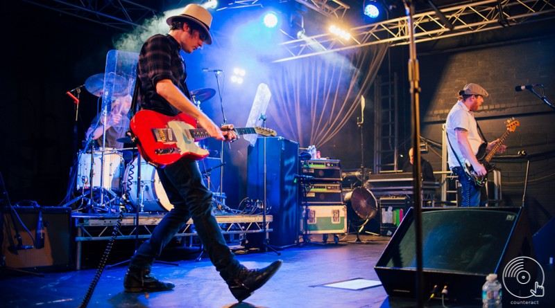 The Fratellis at the University of Warwick Copper Rooms