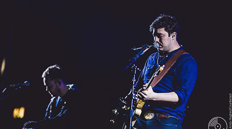 Mumford and Sons live at the Genting Arena in Birmingham