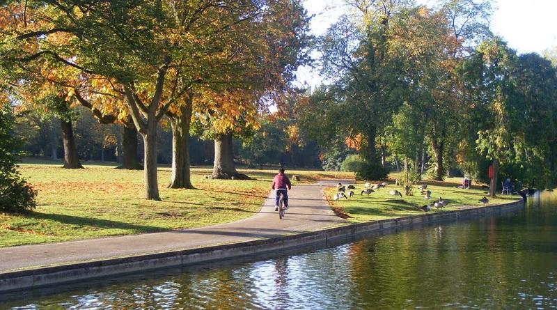 Cannon Hill Park in Birmingham