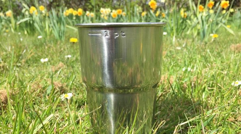 Glastonbury Festival steel cups