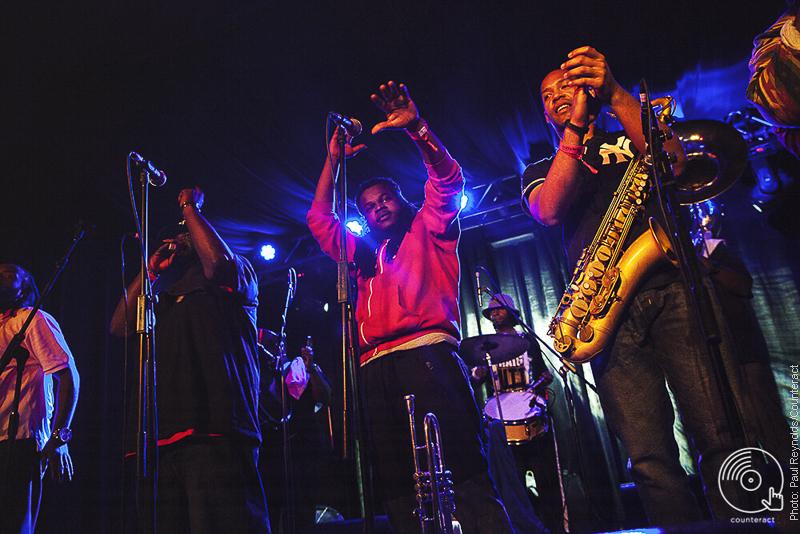 Hot 8 Brass Brand, Birmingham