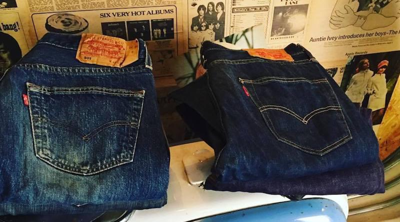 Levi's jeans at Urban Village, Birmingham