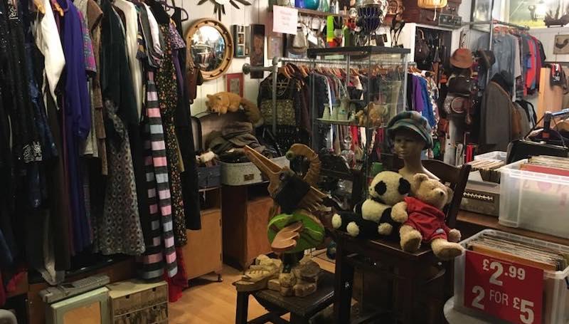 Vintage Hideaway store in Selly Oak Birmingham
