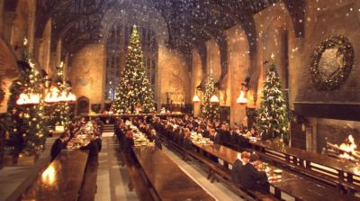 harry potter christmas great hall village moseley feast