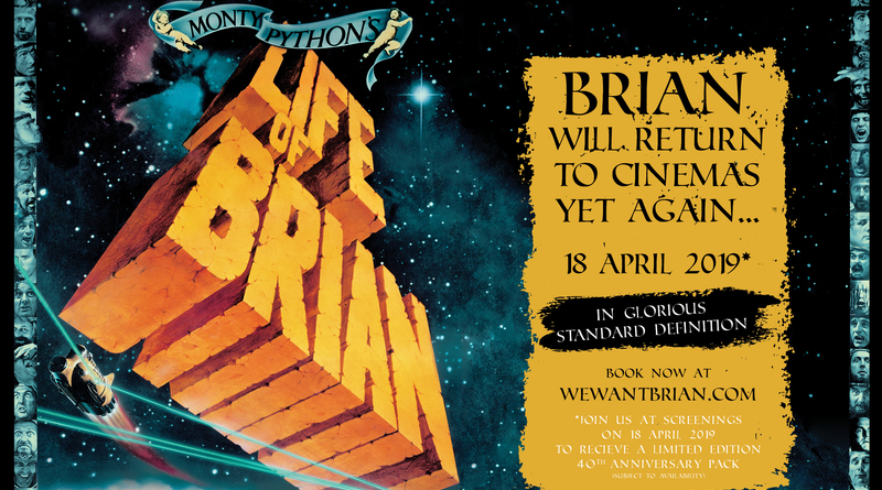 Life of Brian Film Header