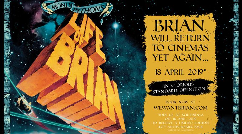Life of Brian Film Header