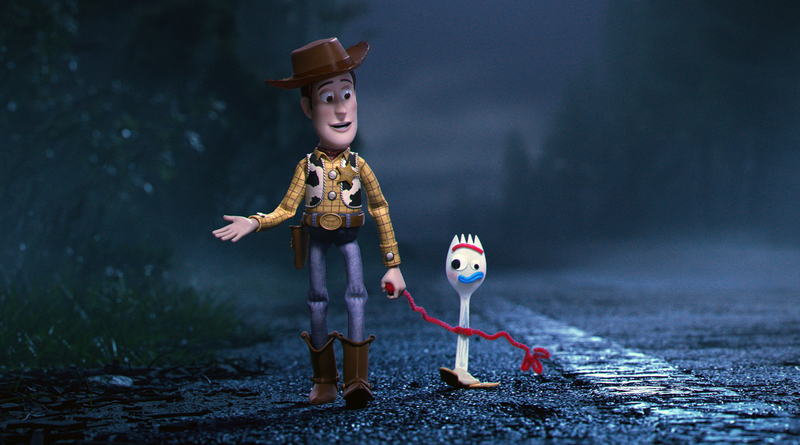 Toy Story 4 film header