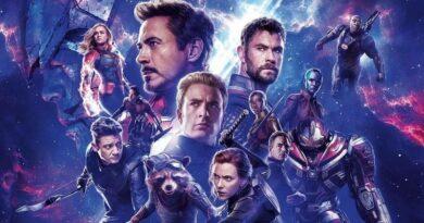 Avengers Endgame film header