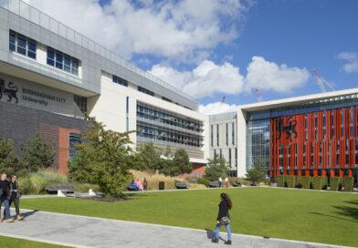 Birmingham City University's Parkside and Curzon buildings