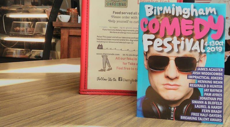 birmingham comedy festival 2019