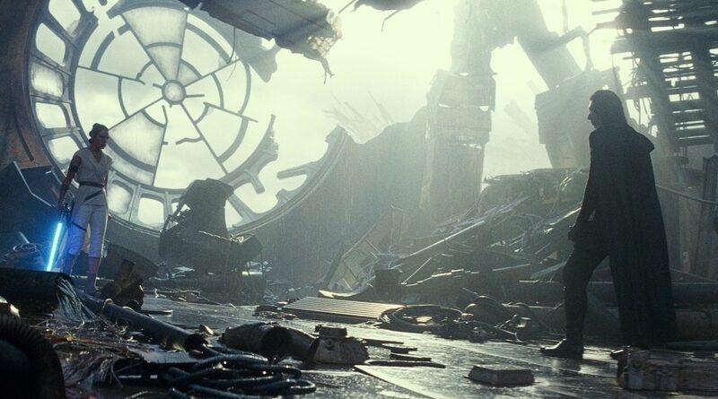 The Rise of Skywalker film header