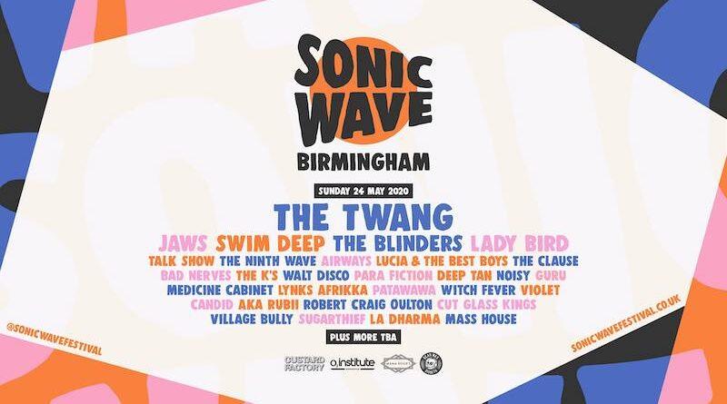 sonic wave festival birmingham