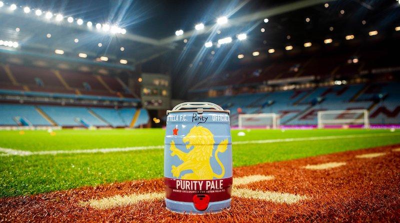 Purity Aston Villa Pale mini keg